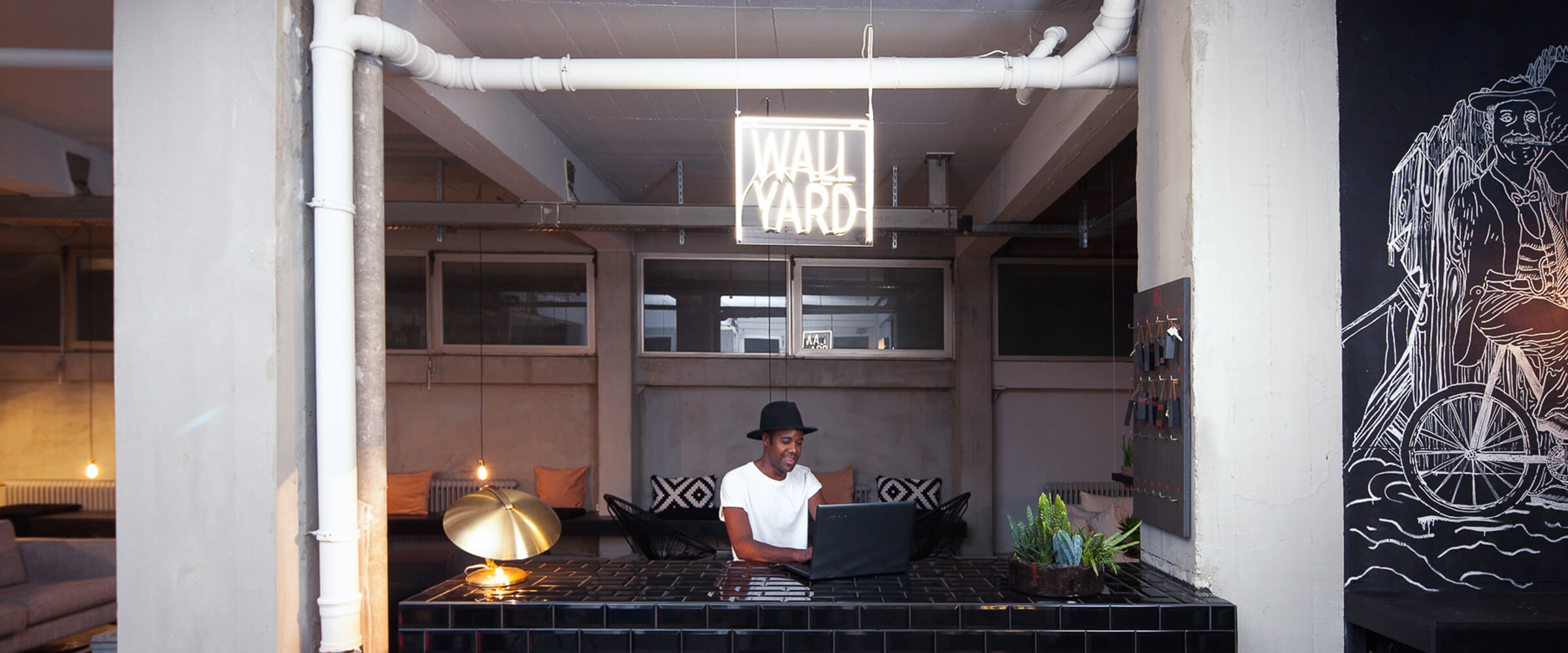 The Wallyard Hostel designed by Moritz Amelung Craft and Design